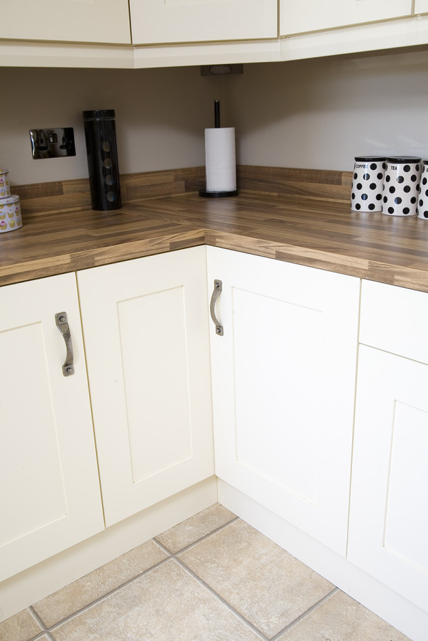 Bespoke Painted Kitchen With Solid Walnut Worktops
